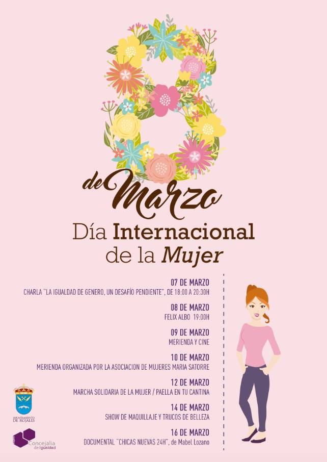 mujer cartel