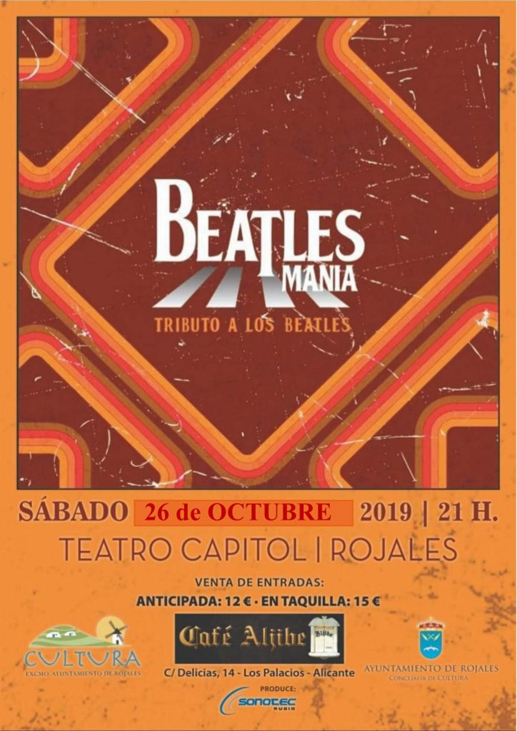 BEATLES MANIA. TRIBUTO A LOS BEATLES.